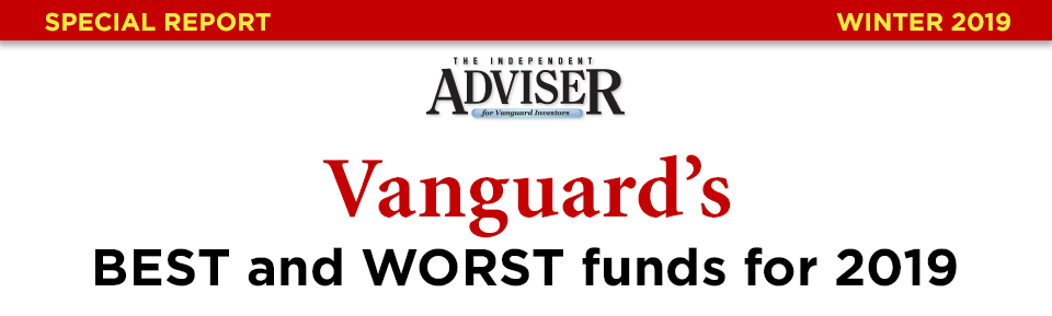 Vanguard's Best and Worst Funds for 2019