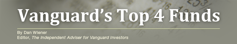 Vanguards Top 4 Funds